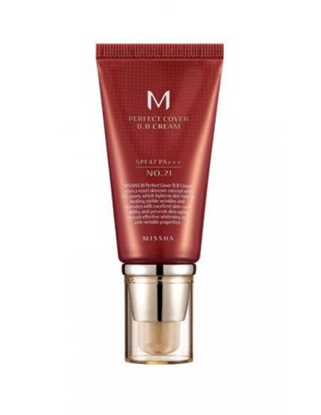 MISSHA Perfect Cover BB Cream SPF 42 PA+++ 50ml 21 Bright Beige