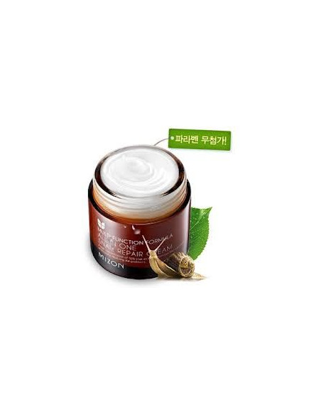 MIZON Crème Visage Réparatrice Mucus Escargot 92% All in One Snail Repair 75ml