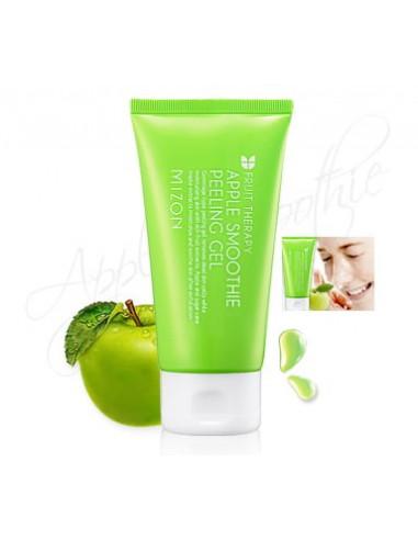 MIZON Gommage gel ultra-doux à la pomme Fruit Therapy Apple Smoothie Peeling Gel 120 ml