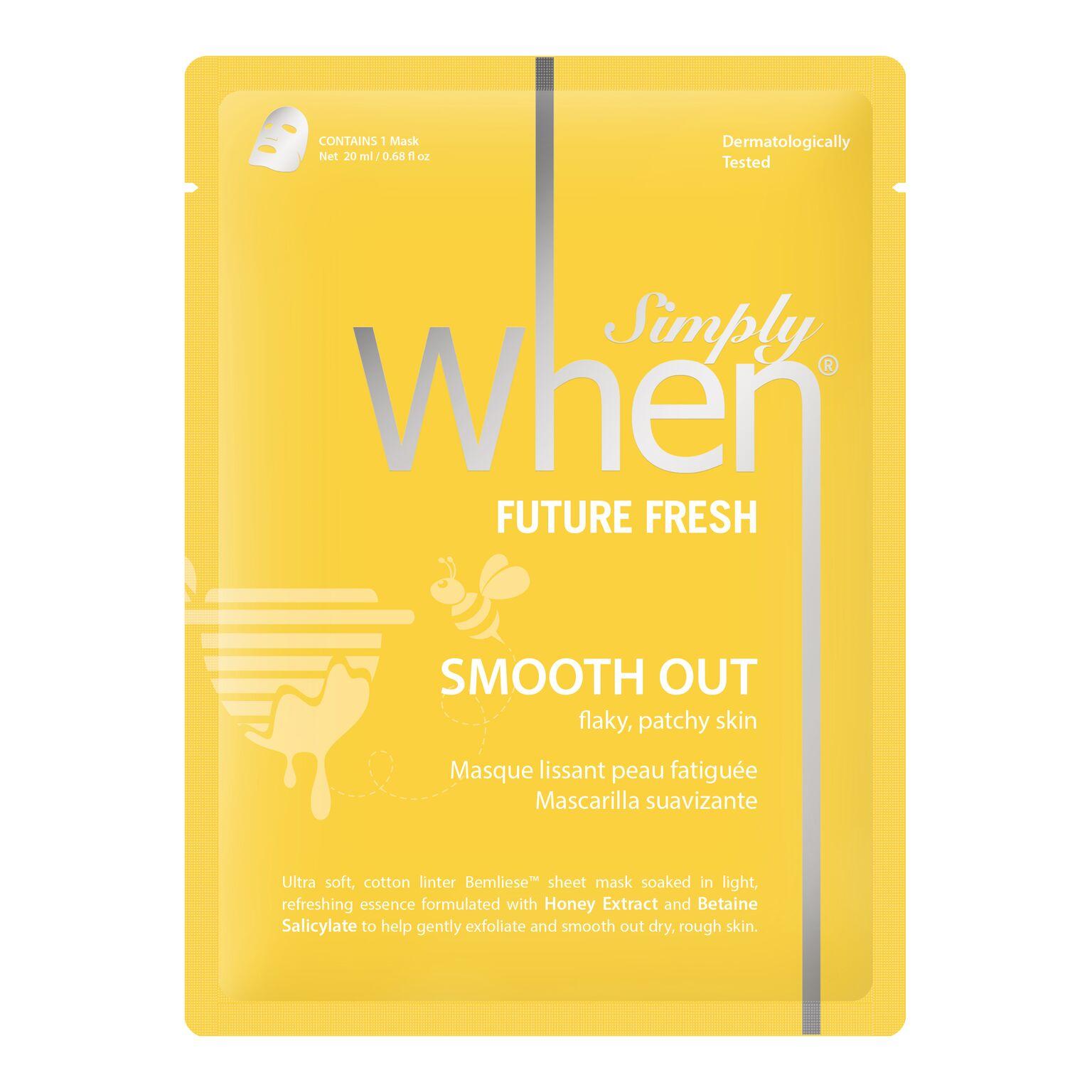 simply when sheet mask future fresh